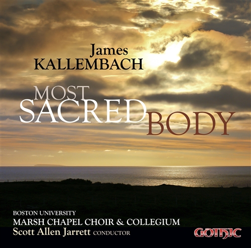 Available now on the Gothic label. - Ethan performs at tenor soloist on this CD release from the Marsh Chapel Choir and Collegium.