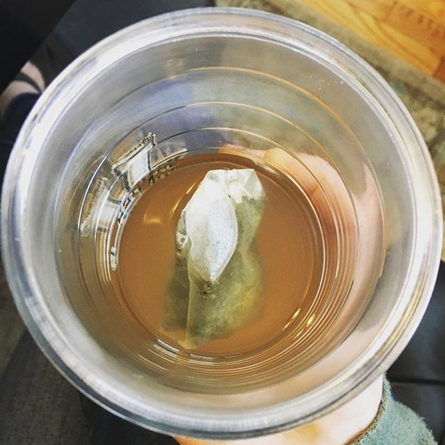 Monday: over steeped green tea. Sounds about right. #timechangewoes #nashvillesongwriter