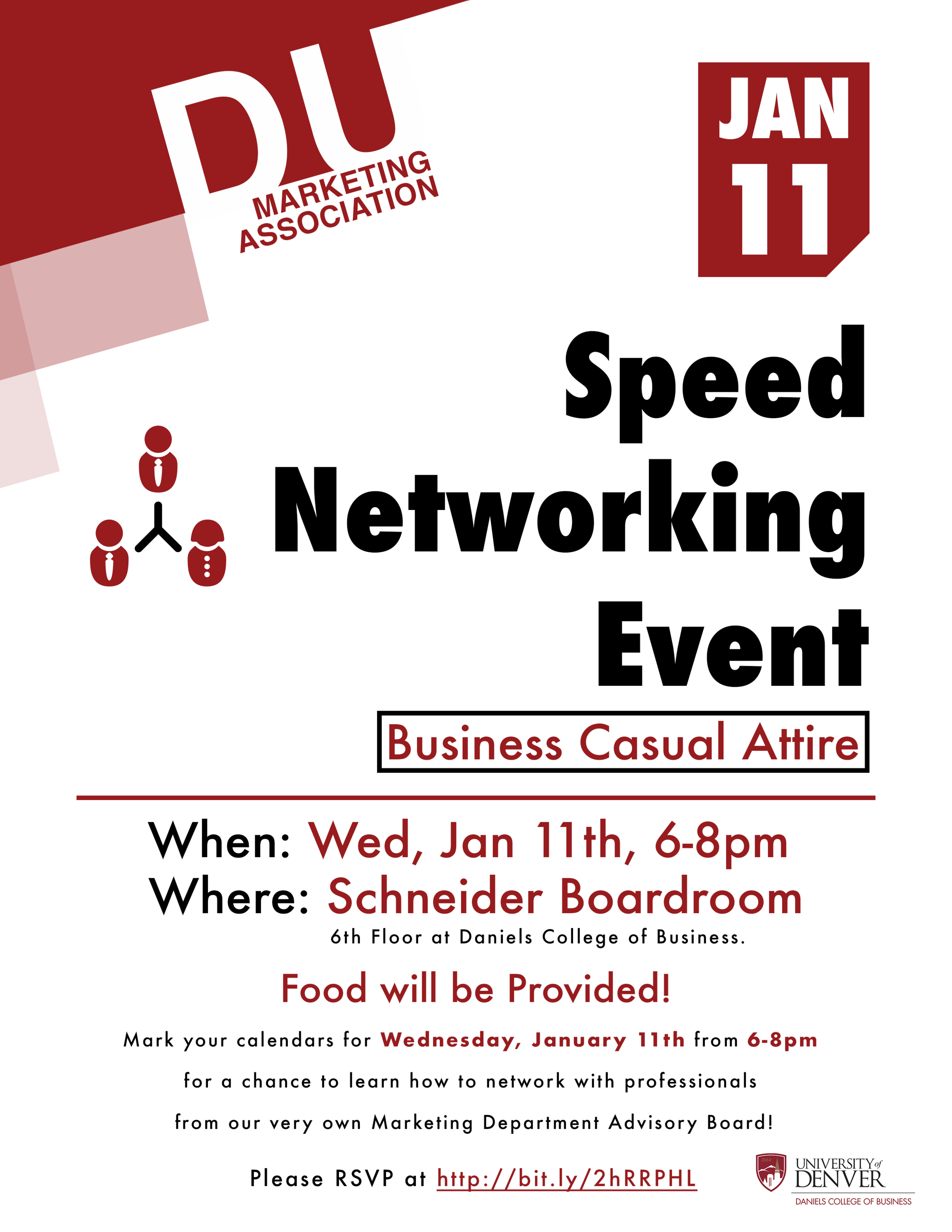 Speed Networking Event Flyer