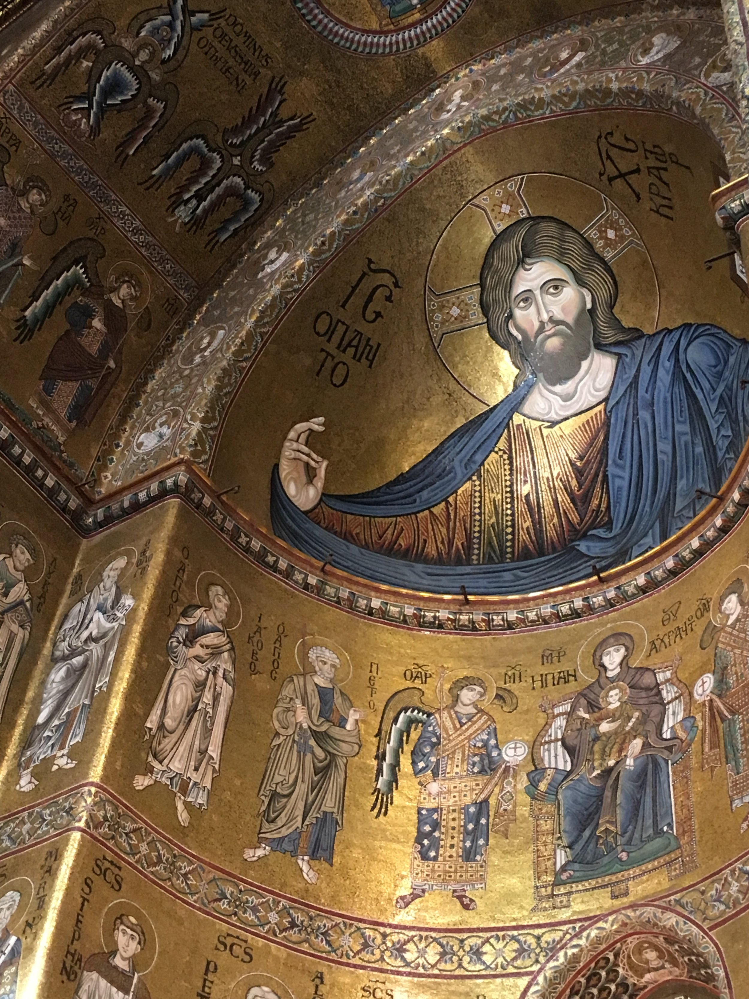 Monreale Cathedral, Sicily, September 2016.
