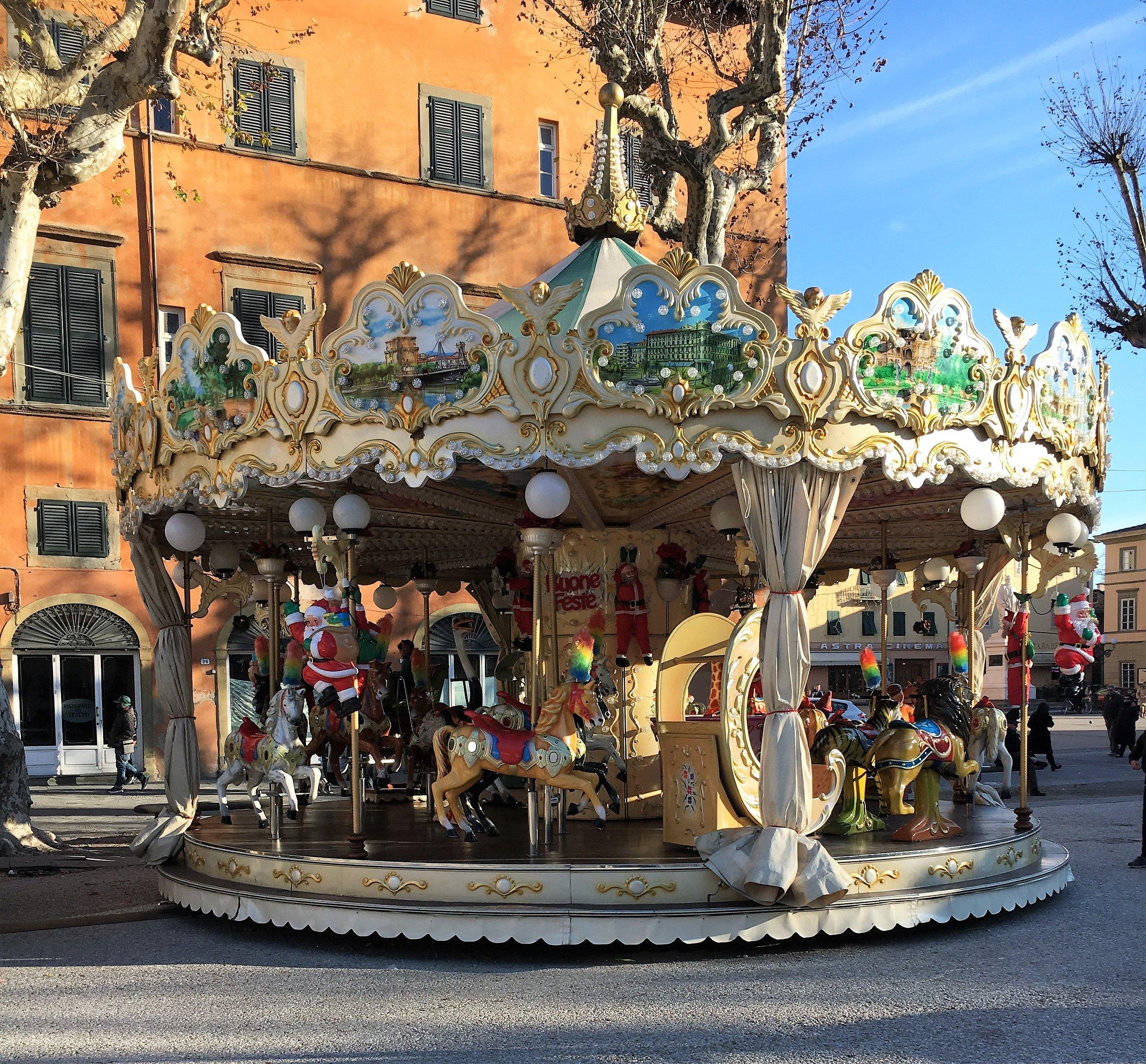 Carousel, Lucca, December 2016.