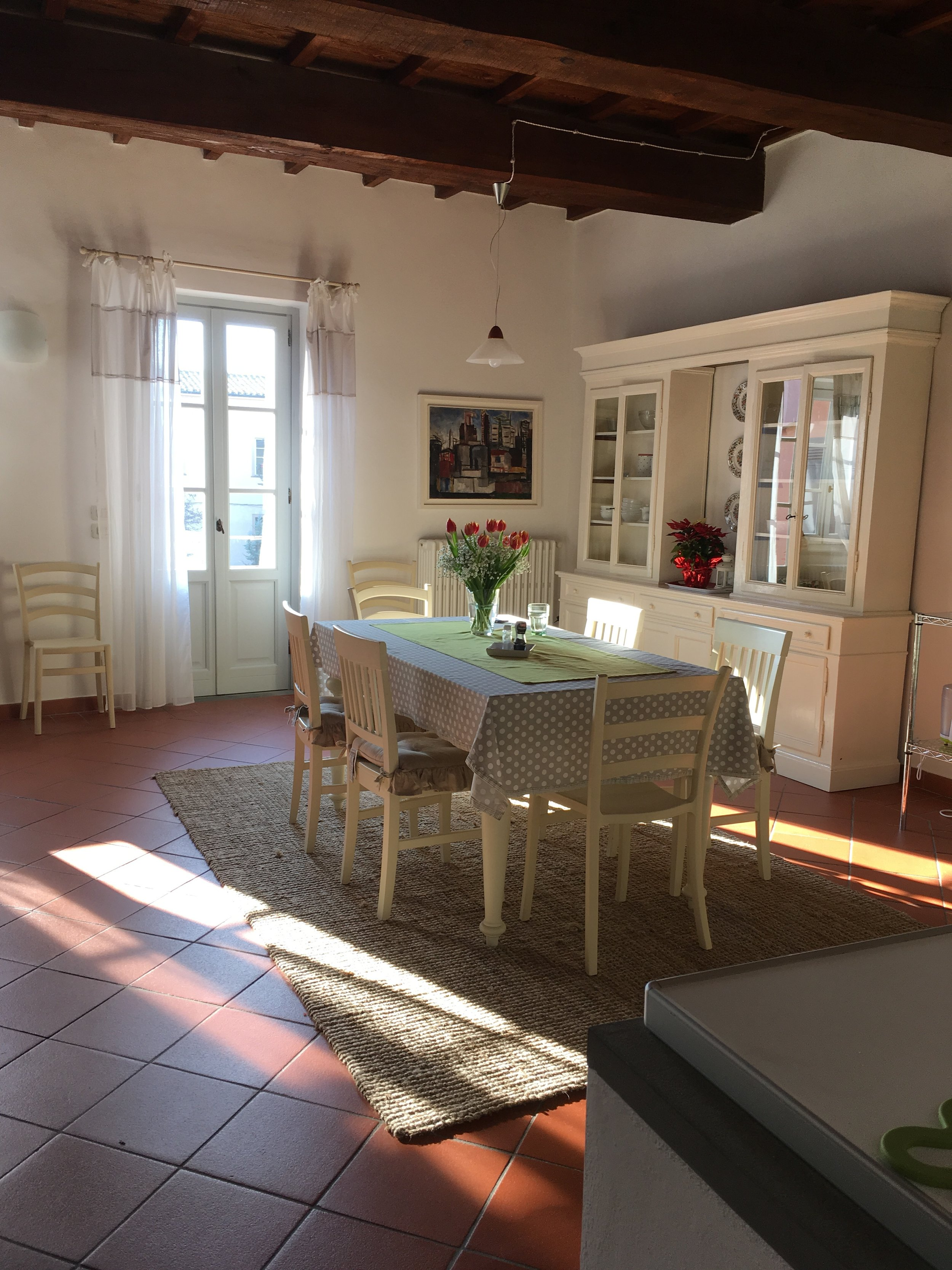 Can you feel the sun streaming in through the windows, even in cold January?