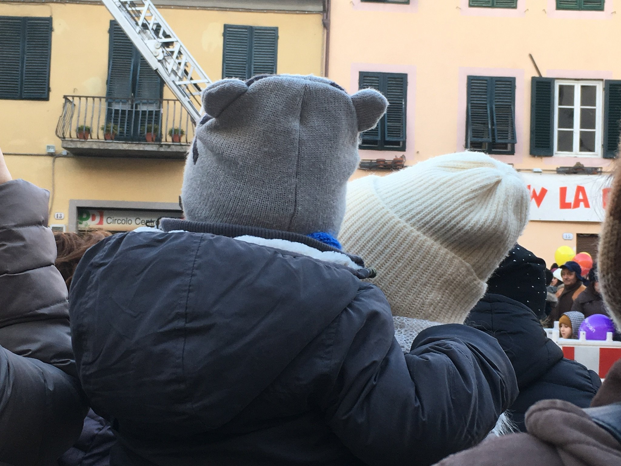 Waiting for Befana to arrive.