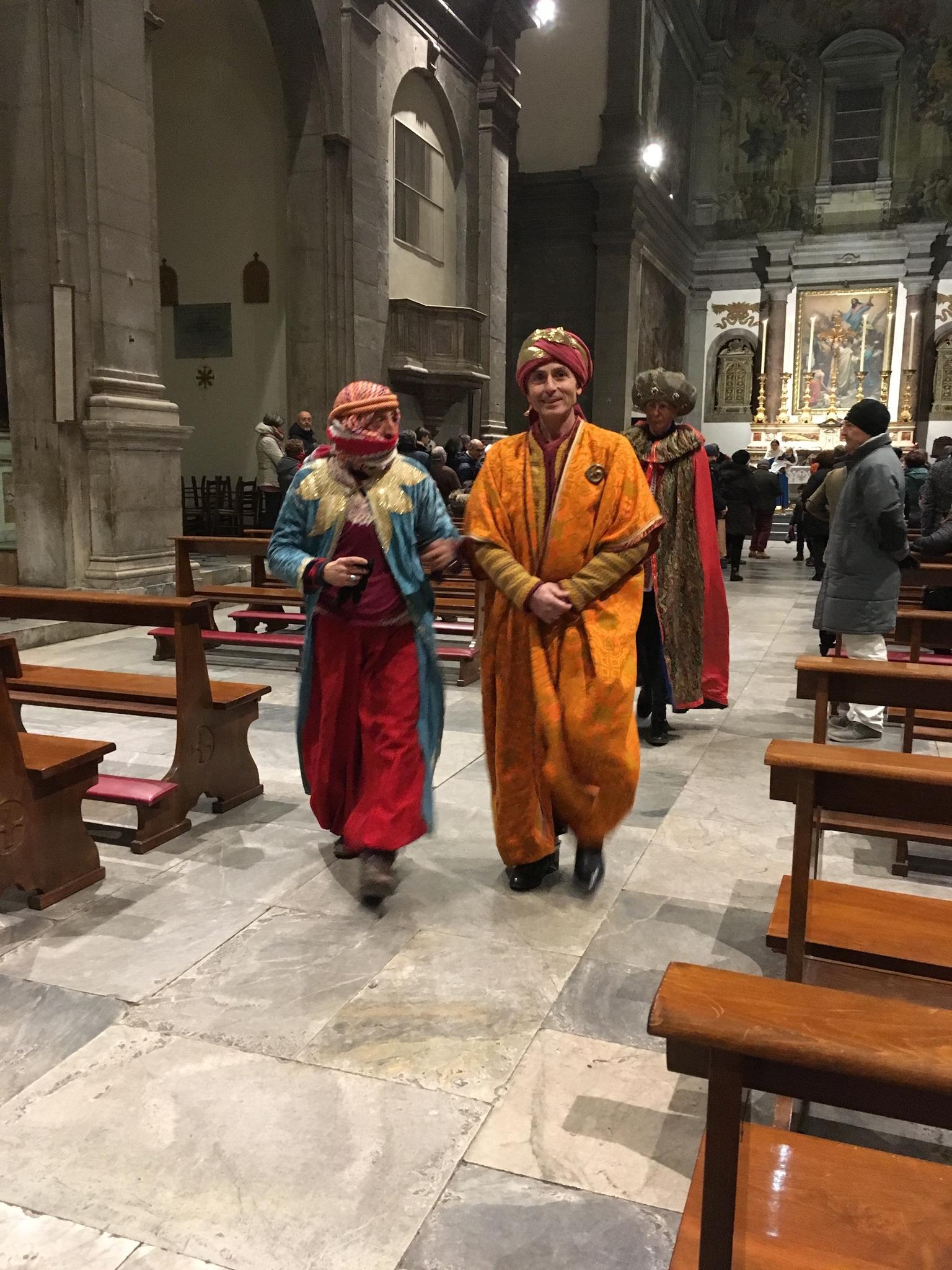 The Magi at the church of San Paolino.