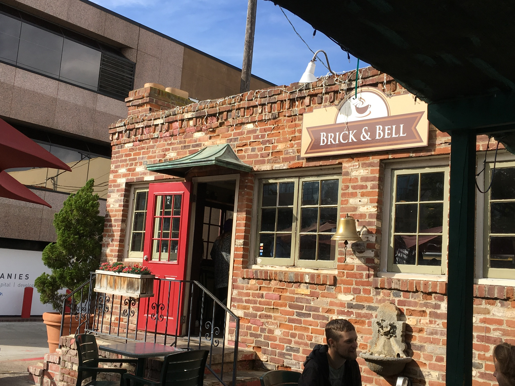 Brick and Bell restaurant.