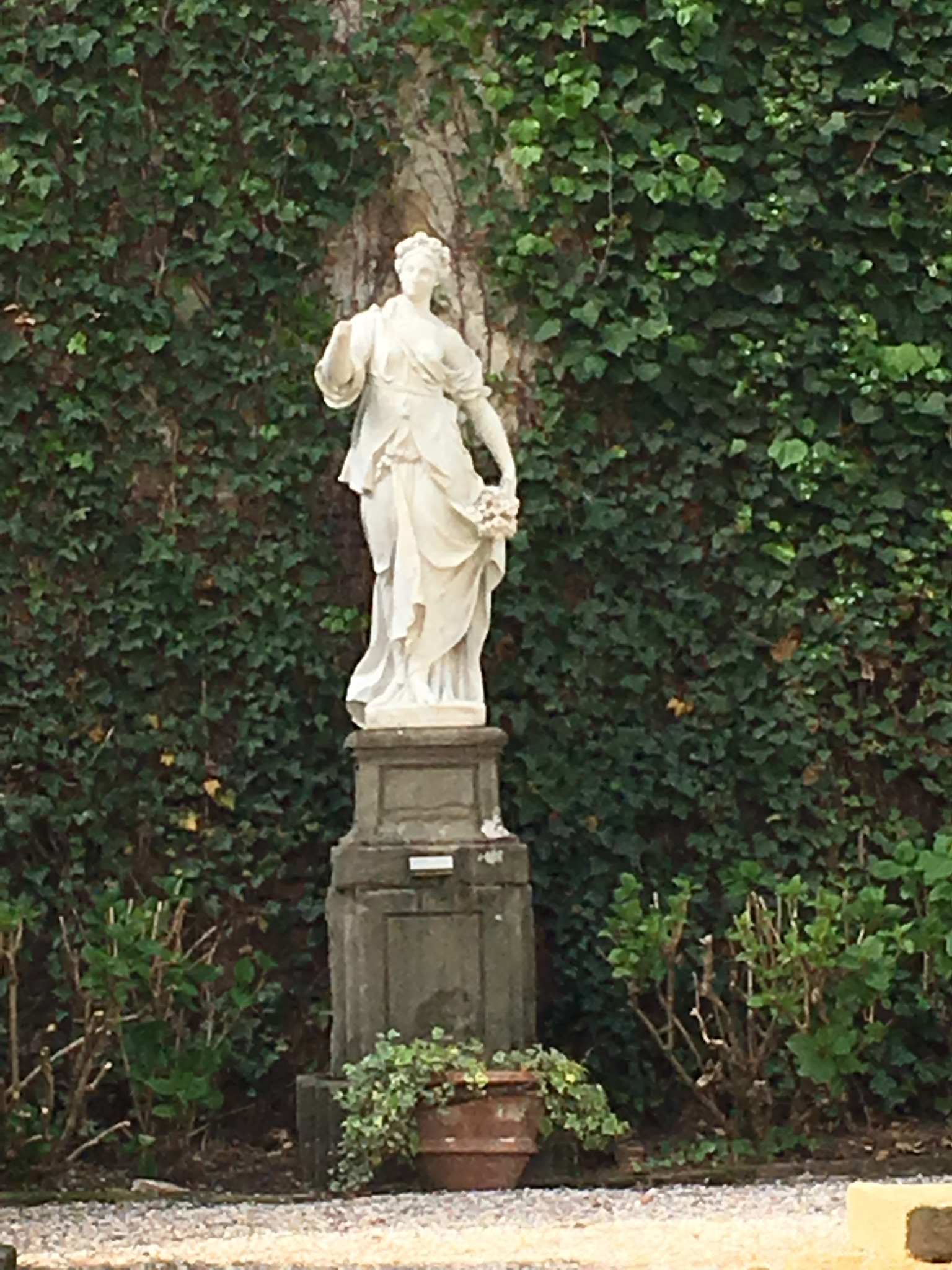 Statue of the goddess Spring, Palazzo Pfanner