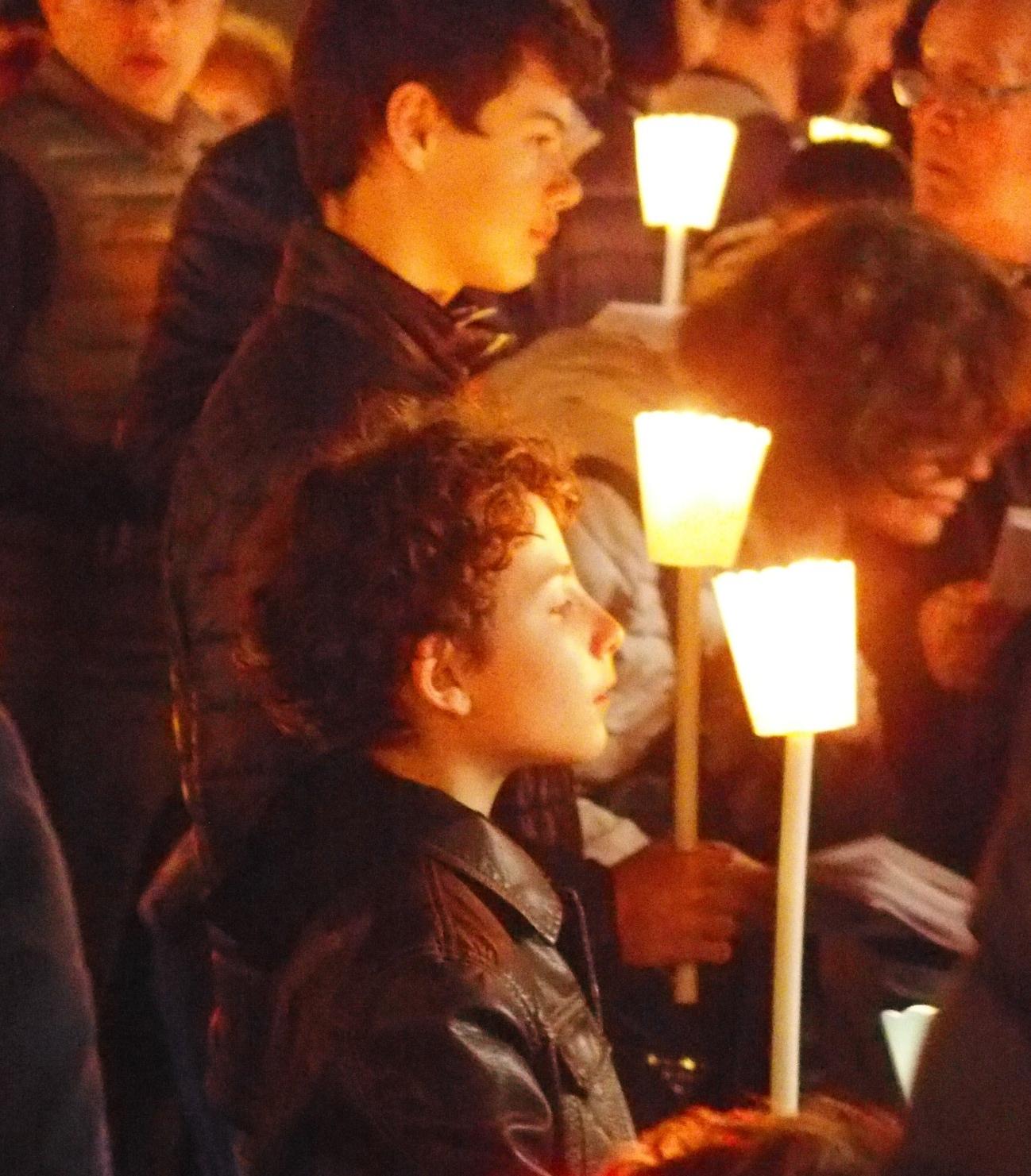 Candlelight Good Friday Procession.    Photo courtesy of Eva Fritzsche.