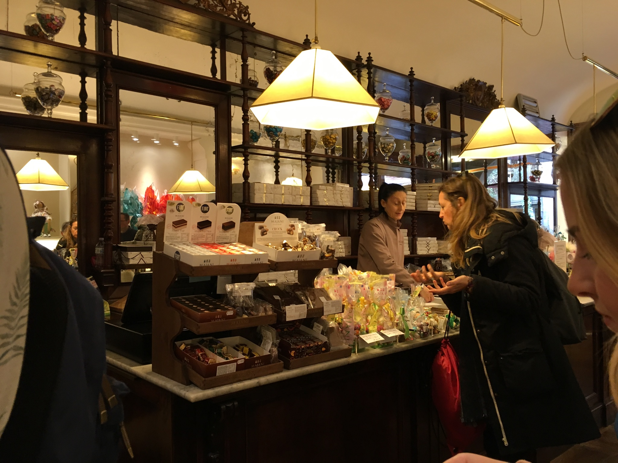 Majani - the place for chocolates in Bologna.