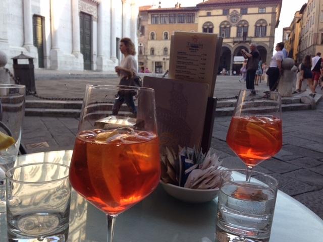 Aperitivo at Bar San Michele, Lucca