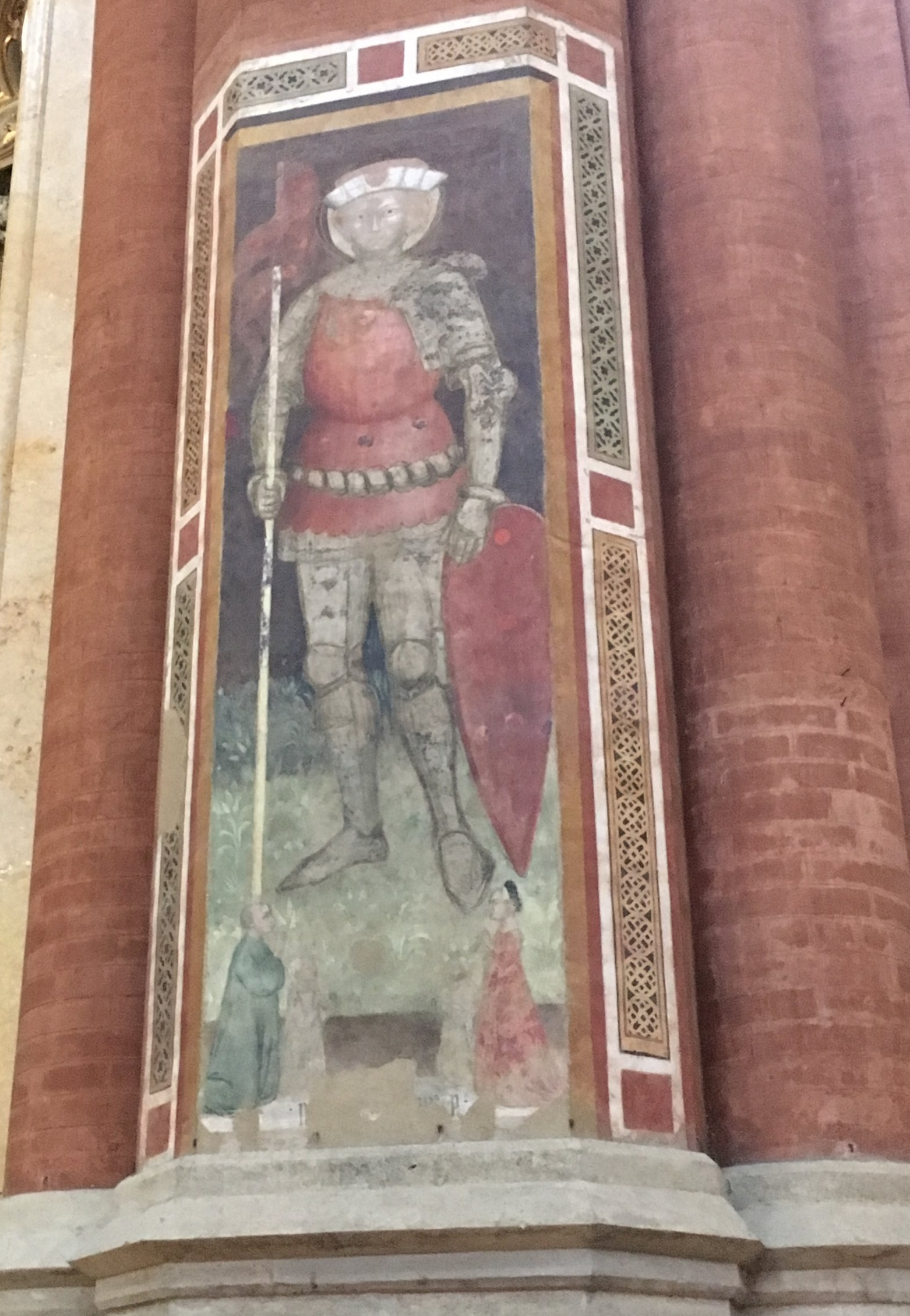 Fresco, San Petronio