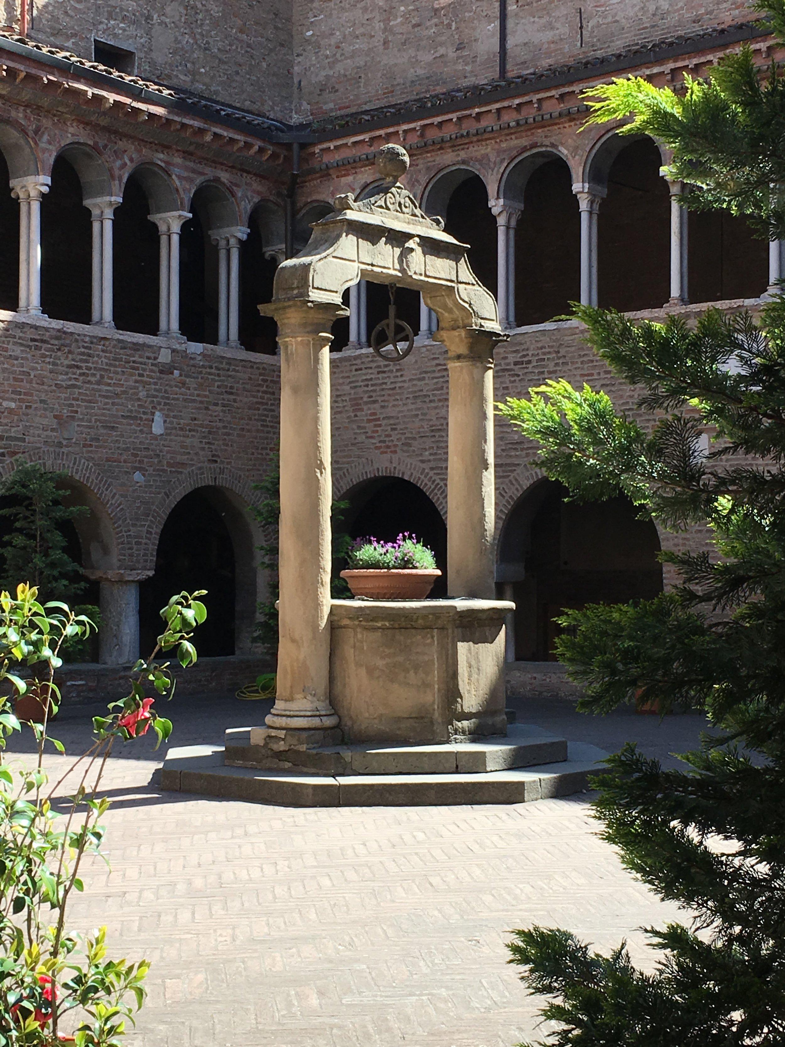 Cloister Courtyard, Santo Stefano, Bologna