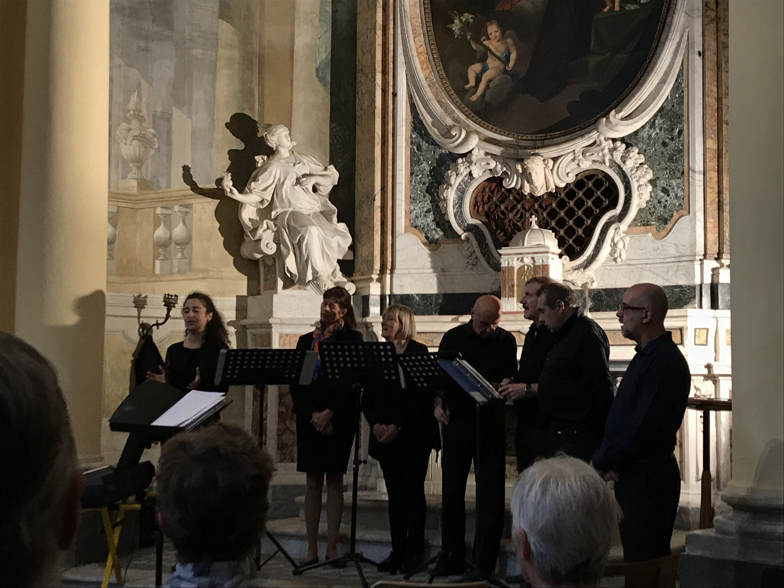 The Italian swing group Coro Puntaccapo