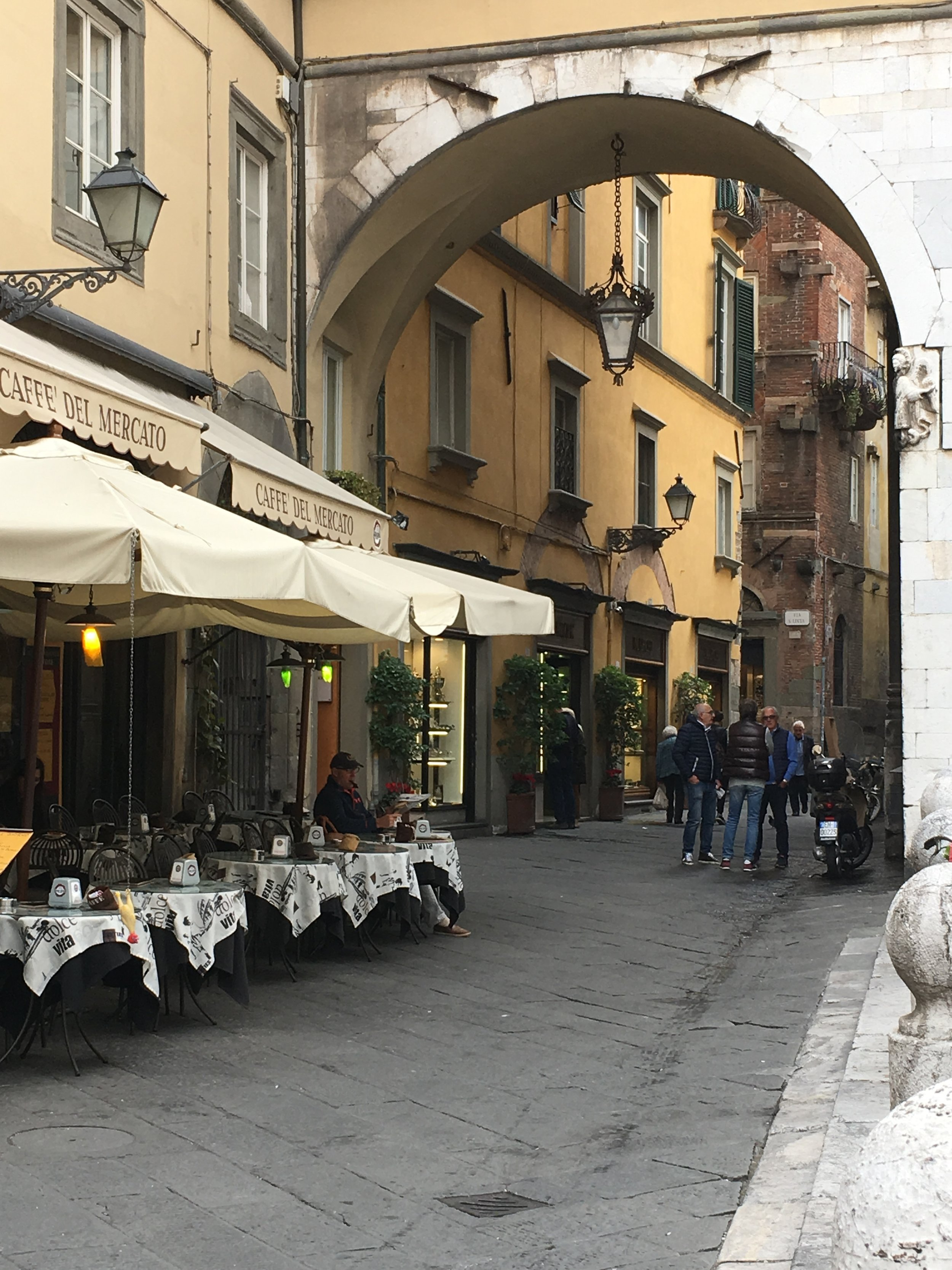 A favorite bar / cafe just off Piazza San Michele, Lucca