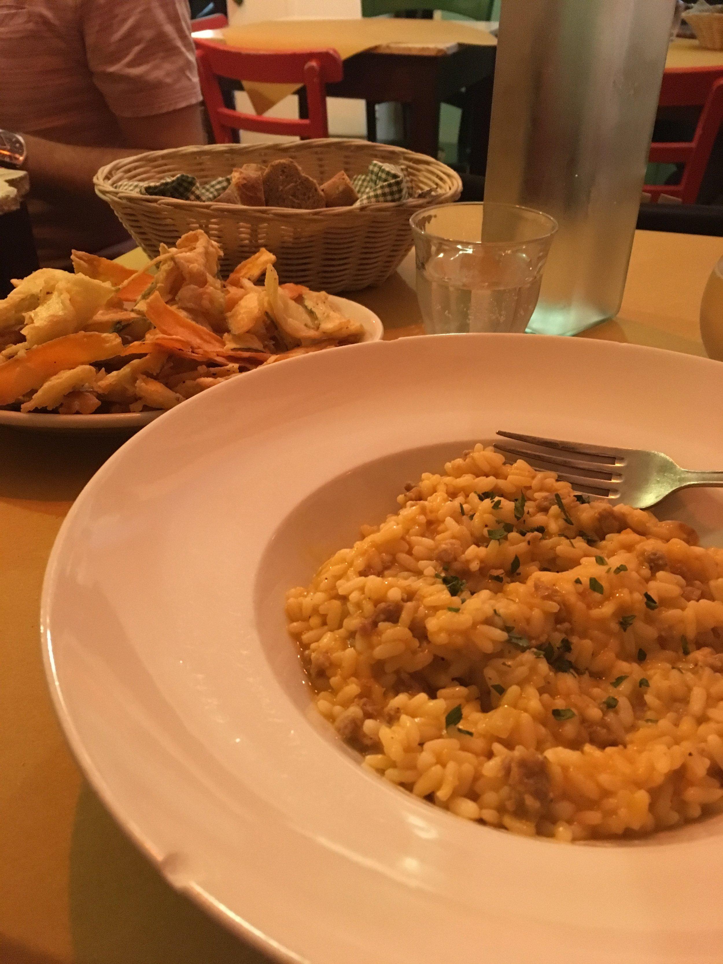 A delicious farewell lunch at Gigi Trattoria.