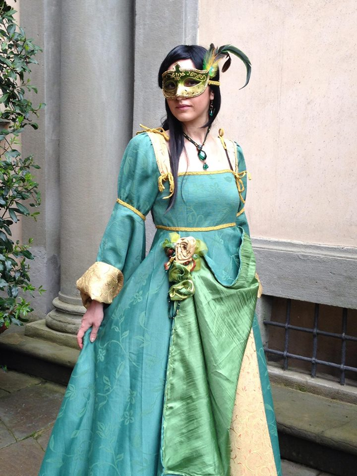 This beautiful costume is from a photo shoot for a previous year's Lucca Comics and Games.