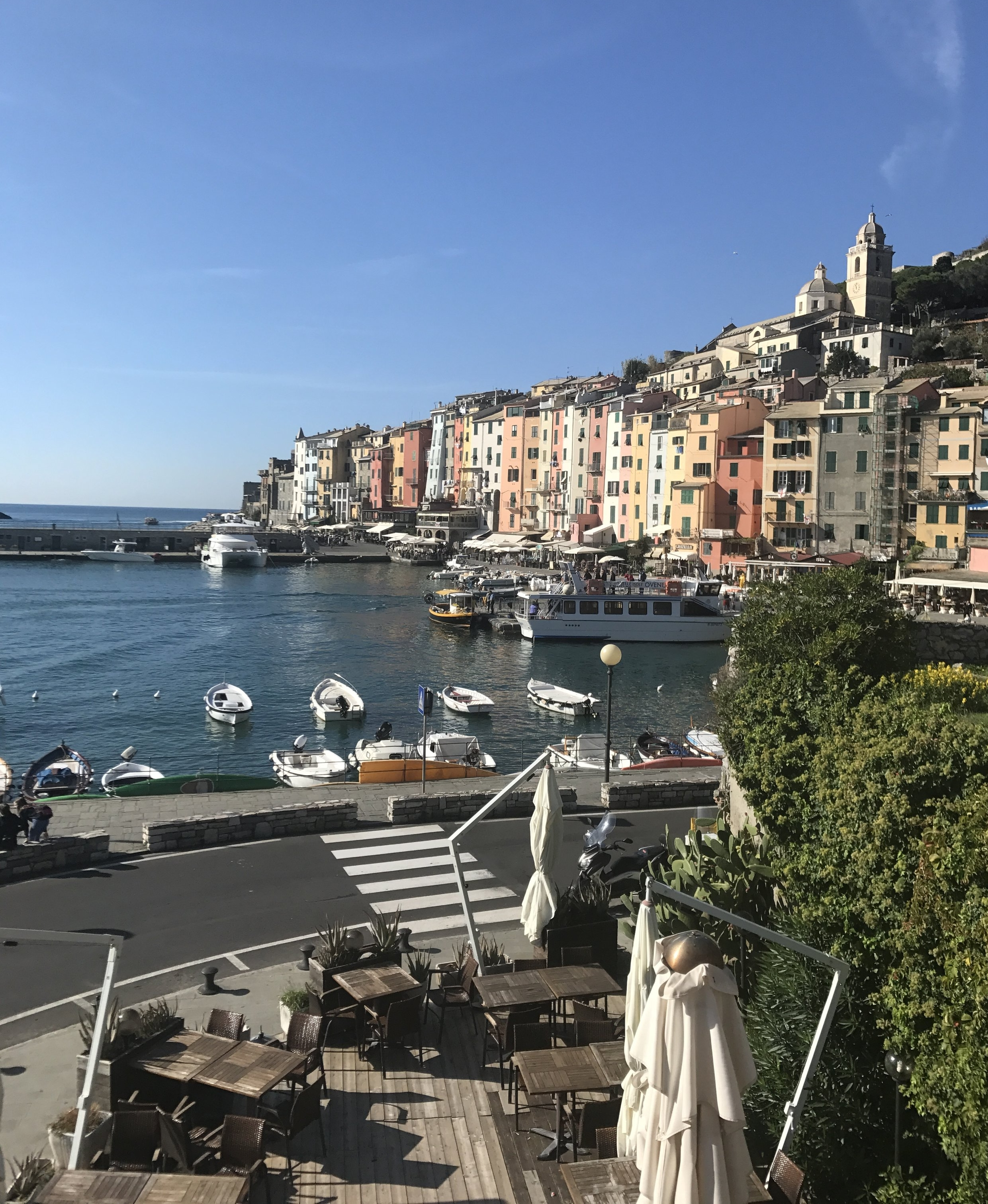 Portovenere in Liguria, Italy