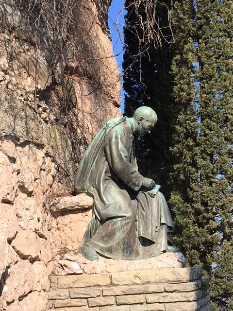 Garden statue, Abbey of Montserrat