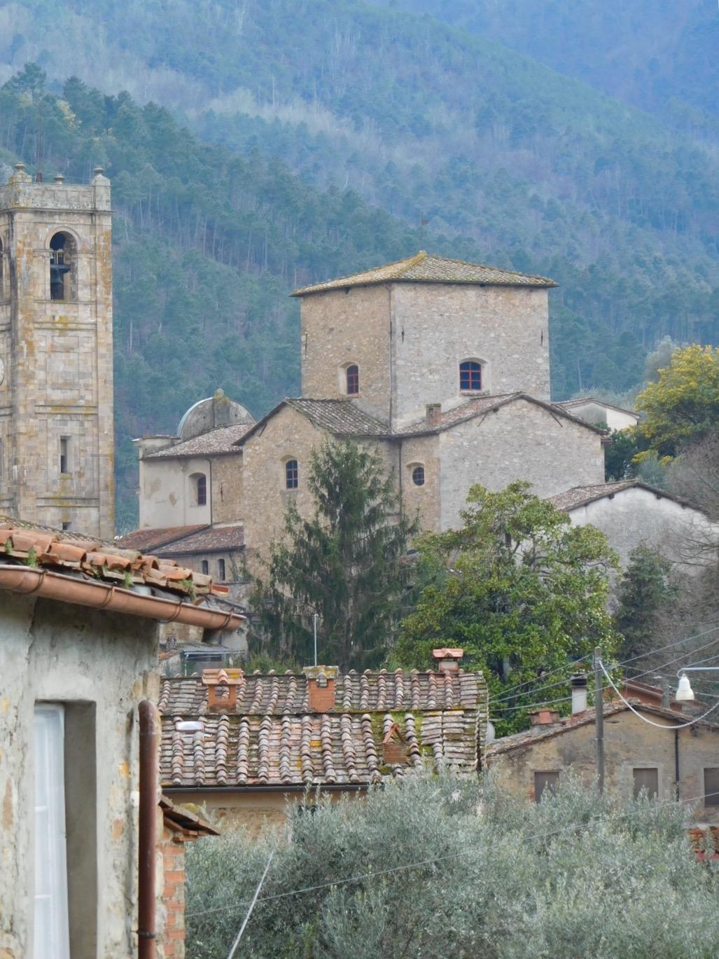 The beautiful  borgo  of Sant'Andrea di Compito