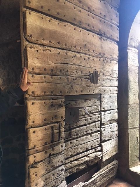 """Original 14th century """"door within a door"""""""