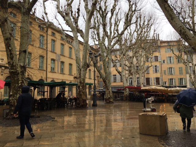 Cour Mirabeau, Aix-en-Provence