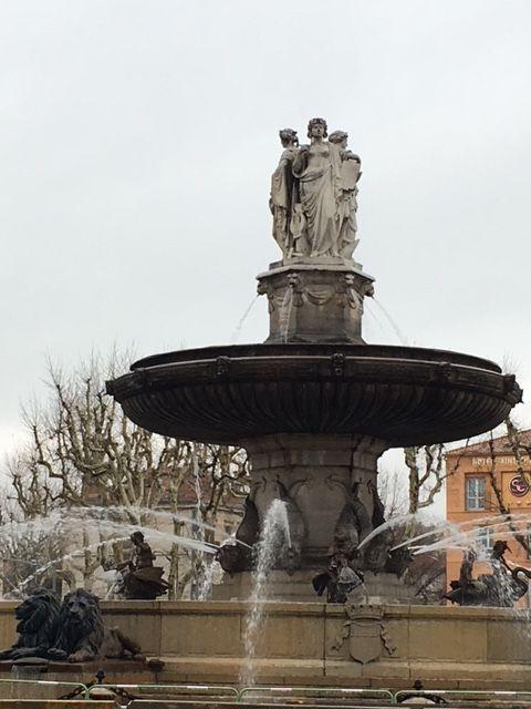 Fountaine de la Rotonde, Aix-en-Provence