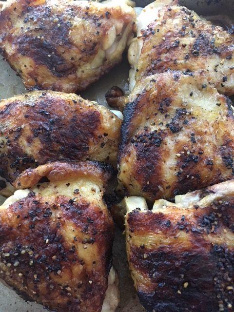 Pollo alla Diavola or, as I call it, Marcella's chicken.