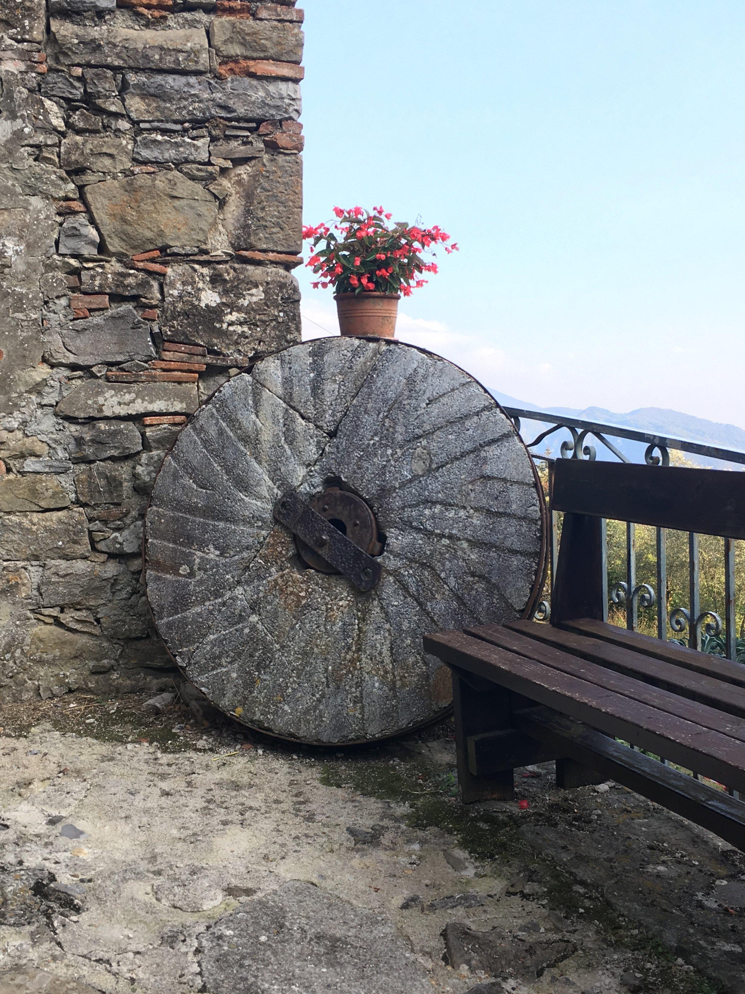 The village of Colognora di Pescaglia