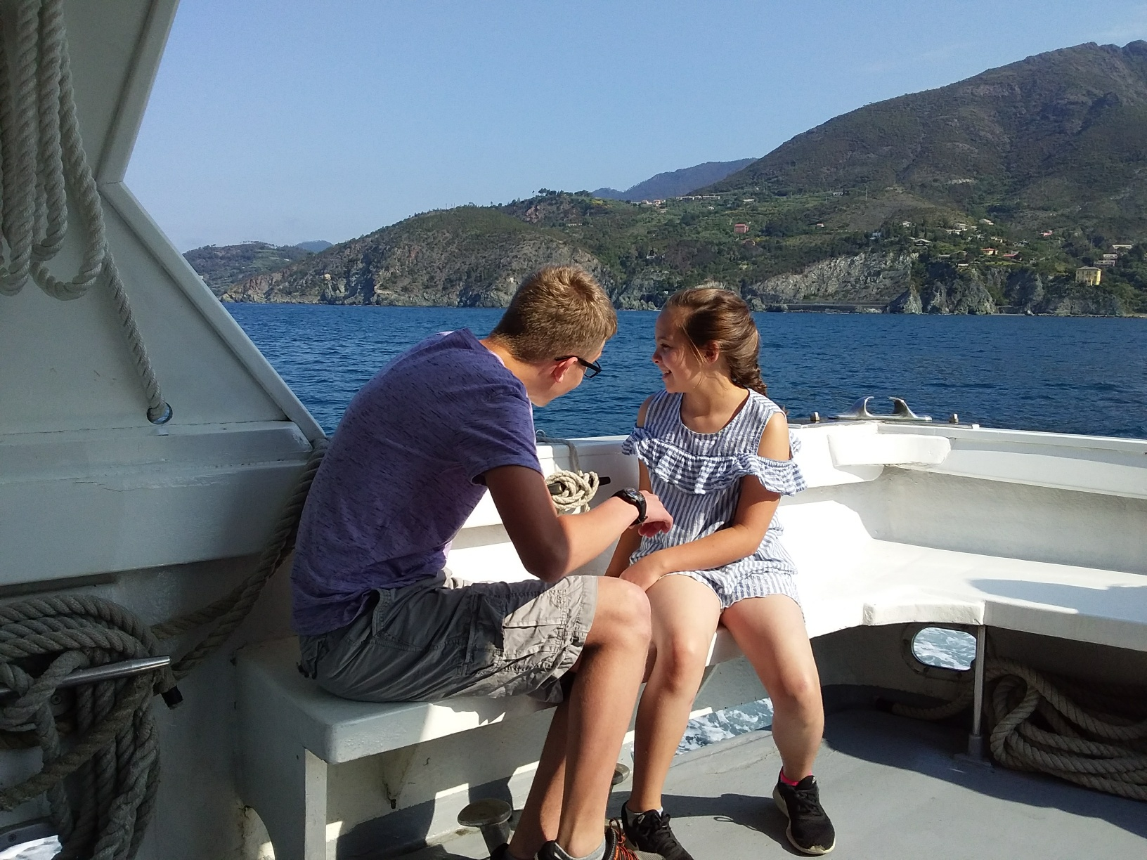 Kids love the ferry boats between Levanto and the villages of the Cinque Terre.