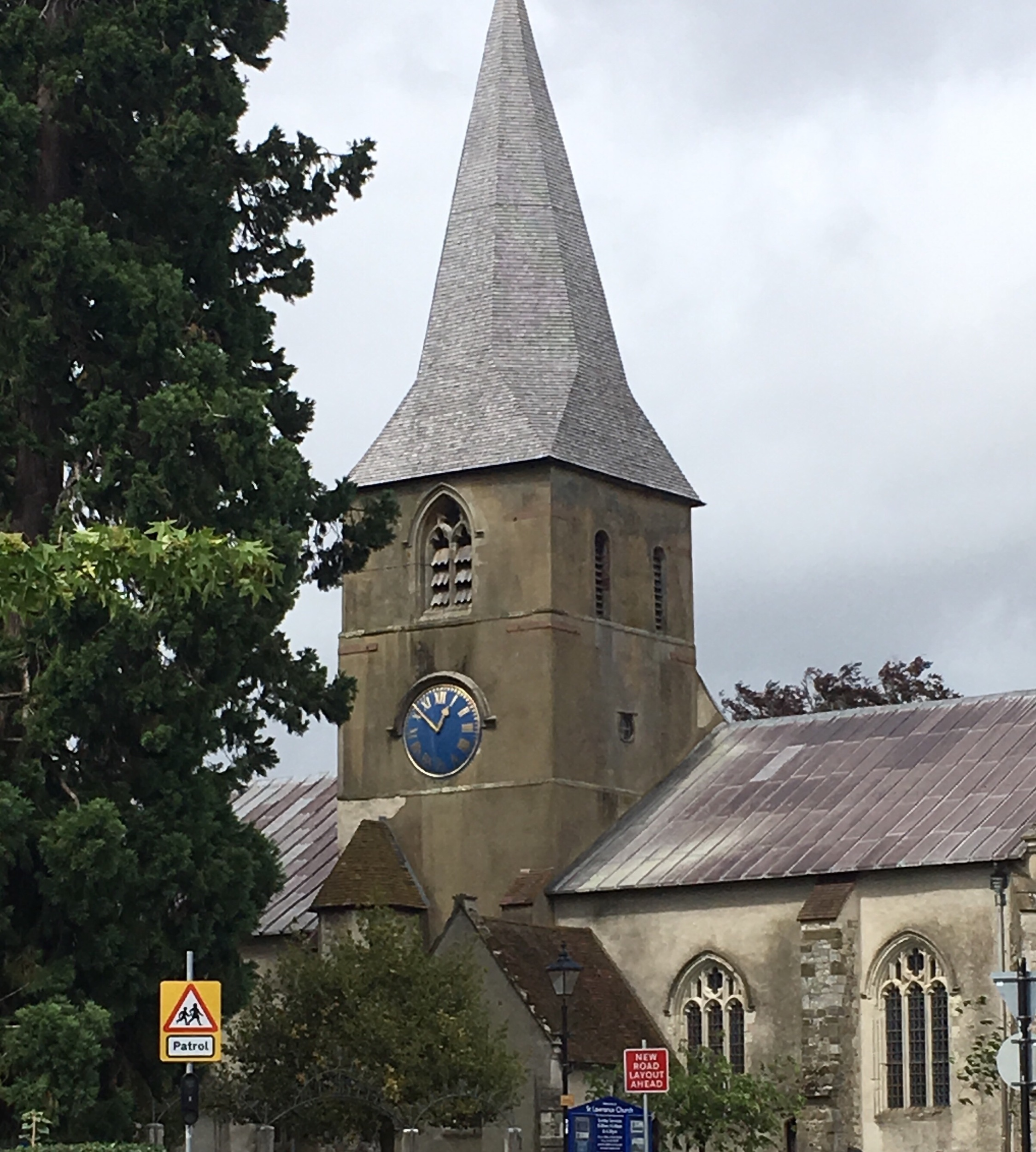 The historic St. Lawrence Church is a landmark in Alton. An English Civil War battle was fought there in 1643.