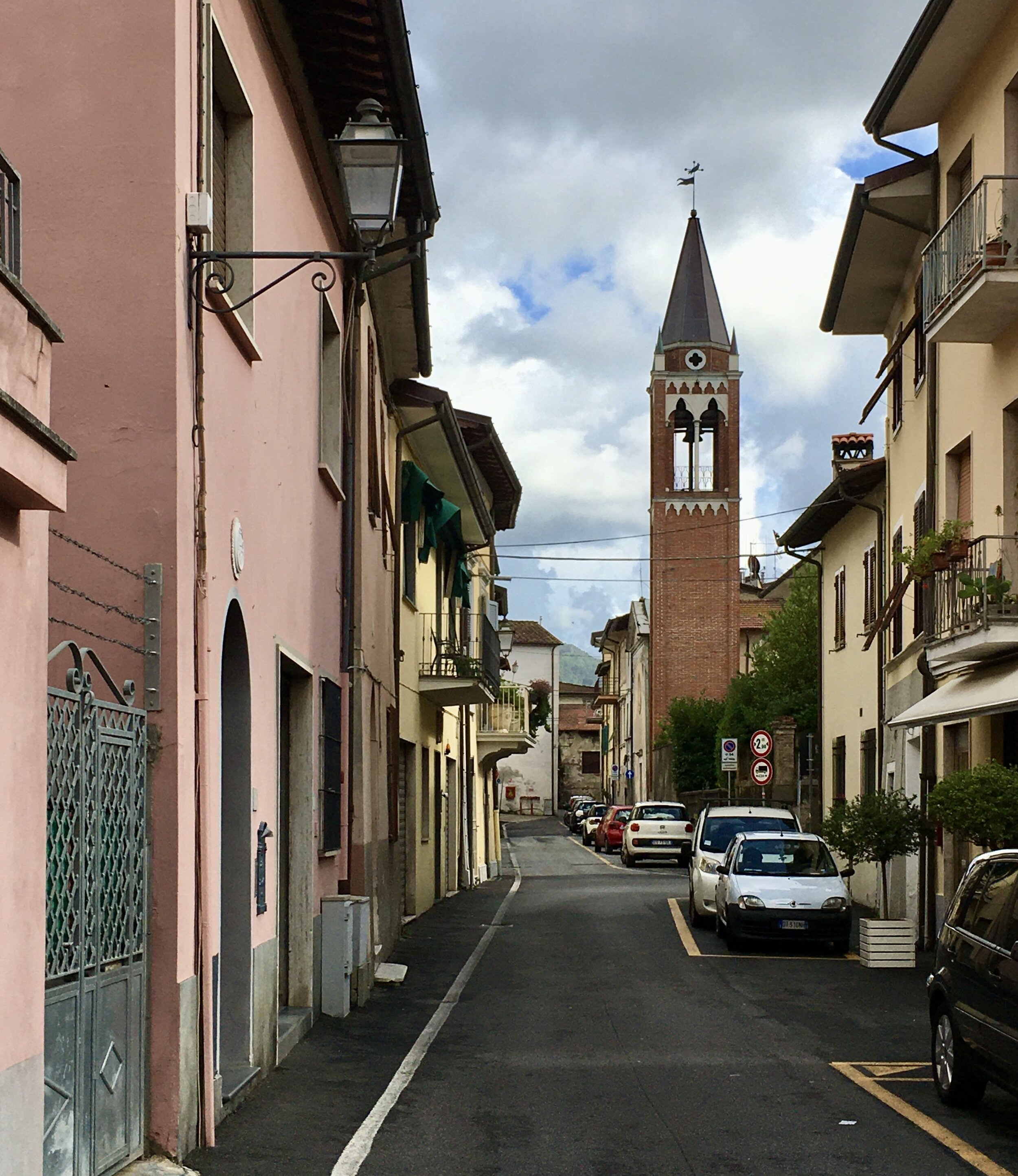 It seems almost every street in the center of Camaiore offers a picturesque view.