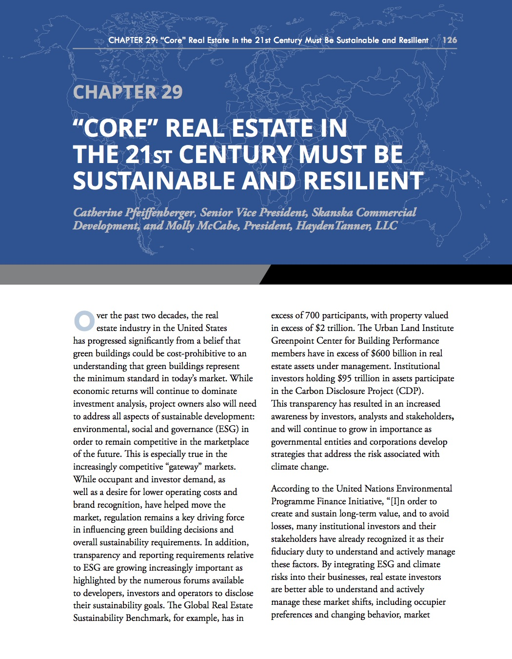 AFIRE Core Real Estate Sustainable