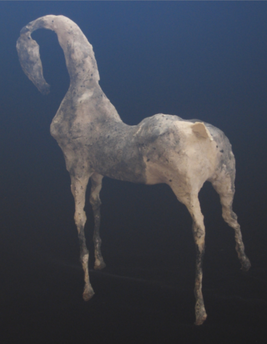 "Nipha II (20.5"" Tall) Sculpture of Paper Mache"