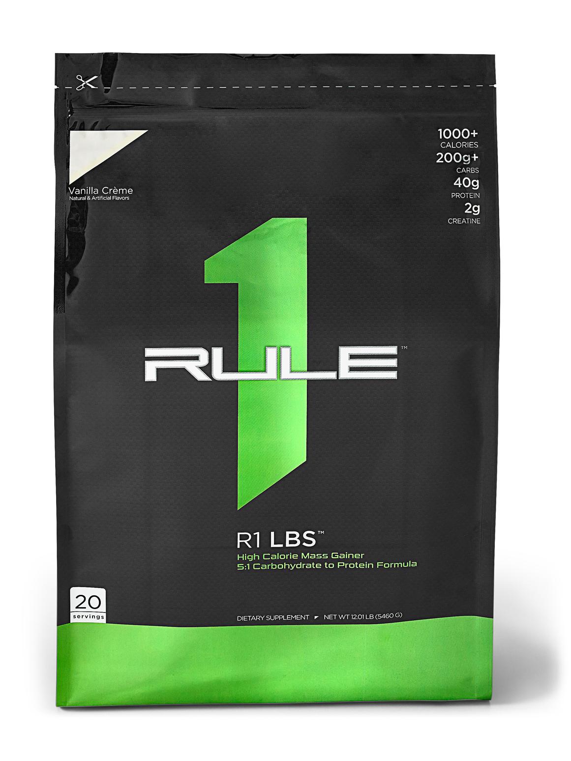 RULE 1 LBS Gainer