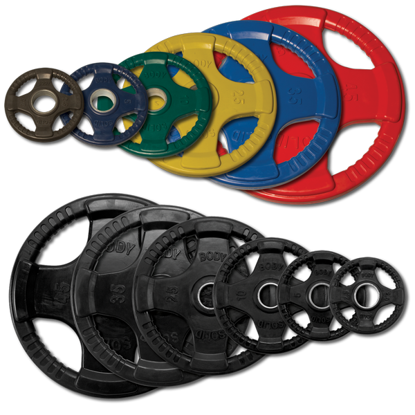 OLYMPIC RUBBER GRIP PLATES