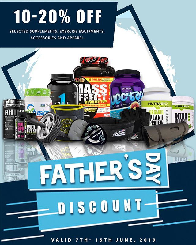 This week ONLY, get 10% to 20% OFF the BEST health & fitness supplements, accessories and equipment this #fathersday 👊🏼😀. . . . . . . . . . . . . Keep your #DAD motivated and healthy when you shop for the BEST, by the BEST @bodyglow2001 👍🏼. . . . . . . . . . . . . .  Not sure what to get him 🤔, no problem 😀. Get him our #giftcertificate that's valid for 1 year at any value $ ....... . . . . . . . . . . . . .  #fitness #sports #fathersday #father #dad #wellness #health #supplements #gymgear #fitnessgear #equipment #livelifefit #bodyglow2001