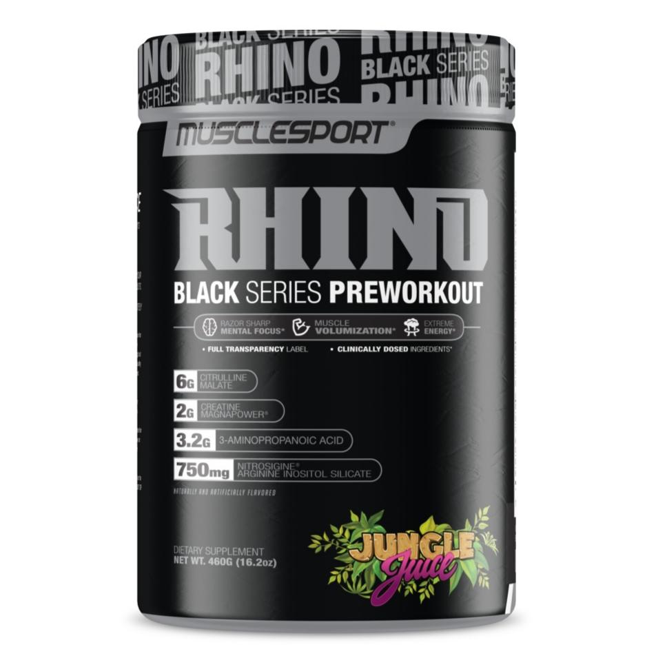 MUSCLE SPORT Rhino Black
