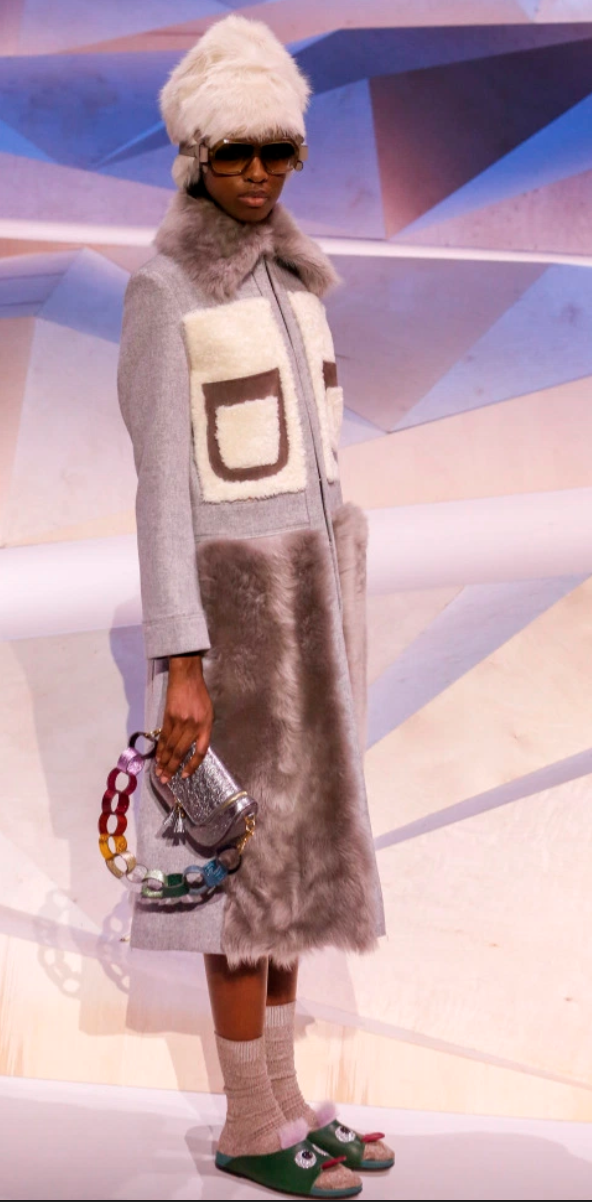 All images above come from Anya Hindmarch's RTW Fall 2017 show in London.