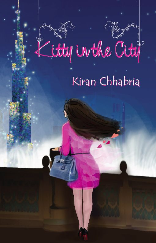 Pick up your copy of Kiran's debut novel,  Kitty in the City ,  HERE.