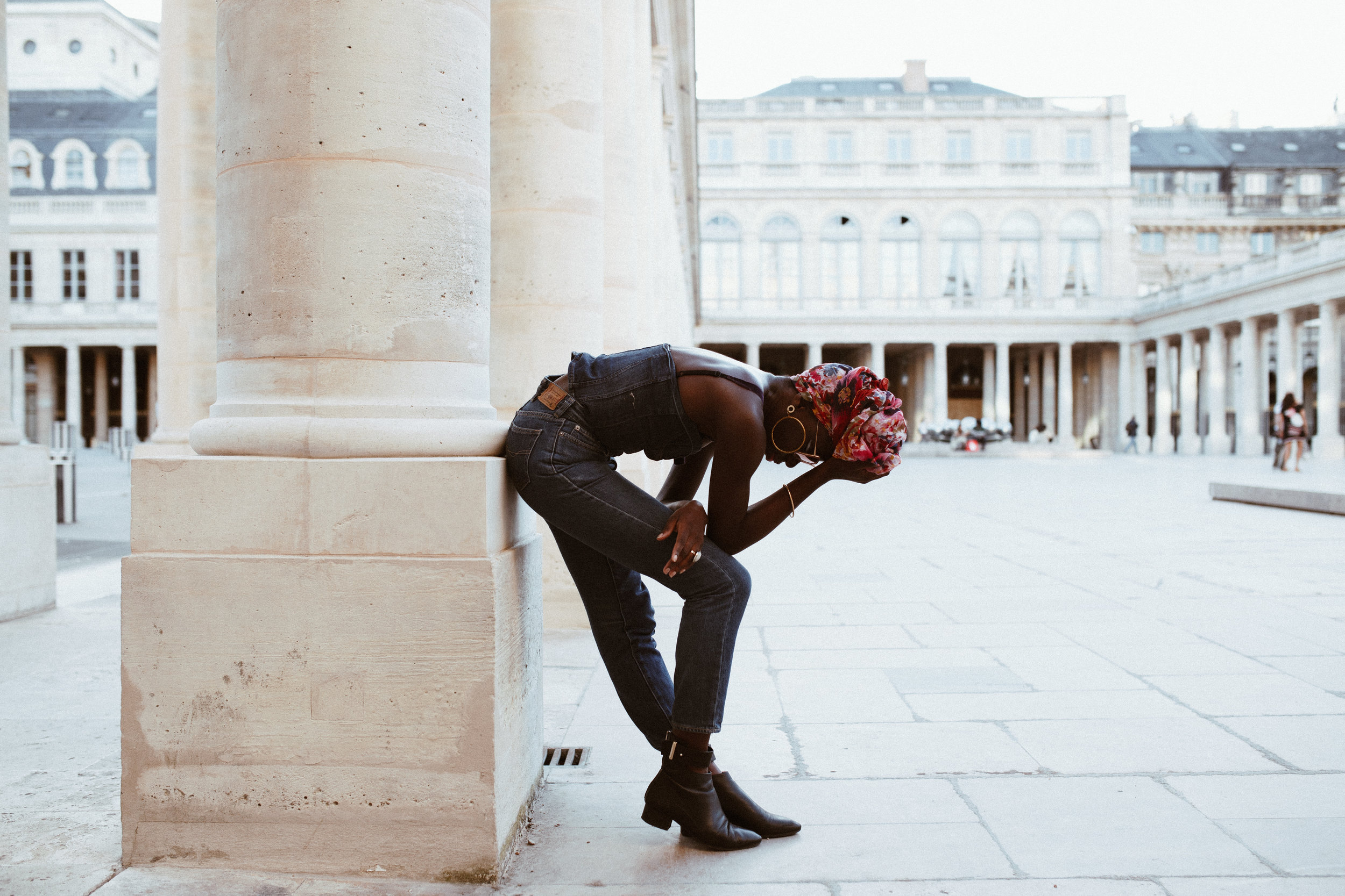 Parisian Style - Palais Royal - Rebecca Meraki - AROSE TRAVELS