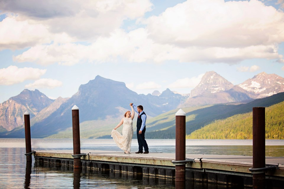 Glacier National Park Mountain wedding