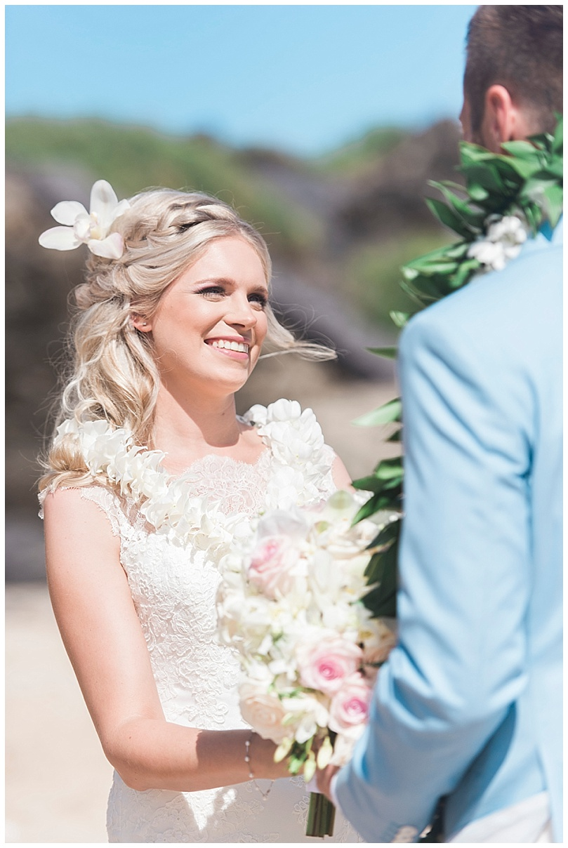 ironwoods-beach-elopement-maui-bride-smiling-ceremony