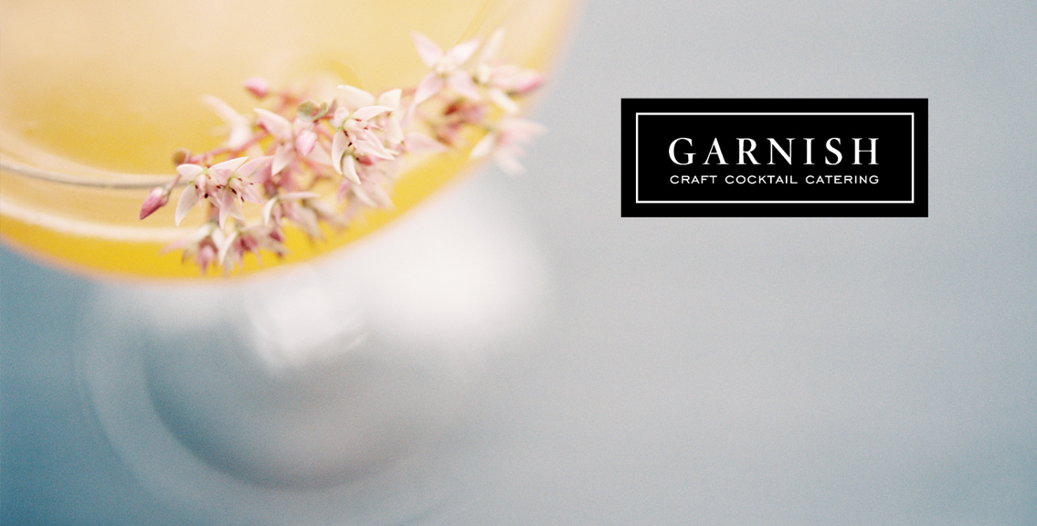 Garnish Craft Cocktails Branding Shoot