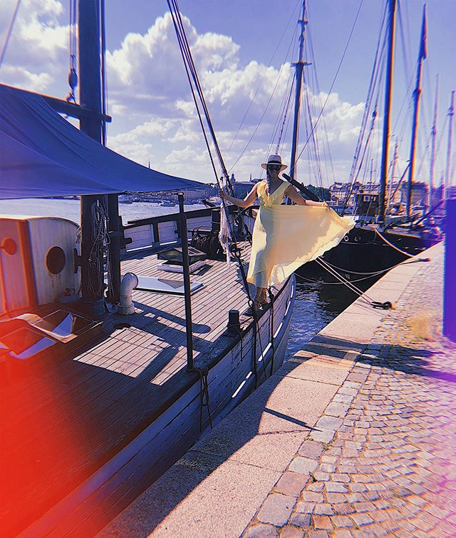 "boat life / part 2 / vibe b / ""stockholm"" — (see previous post) #linspoworldtour"