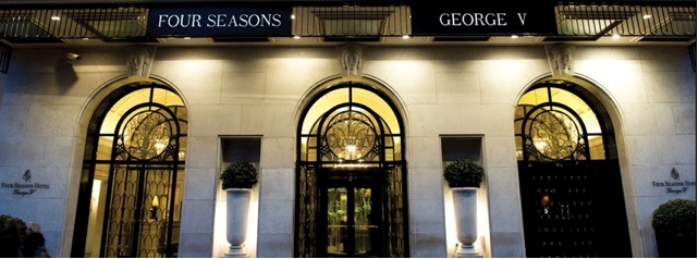 Photo Credit:  Four Seasons Hotel George V Paris