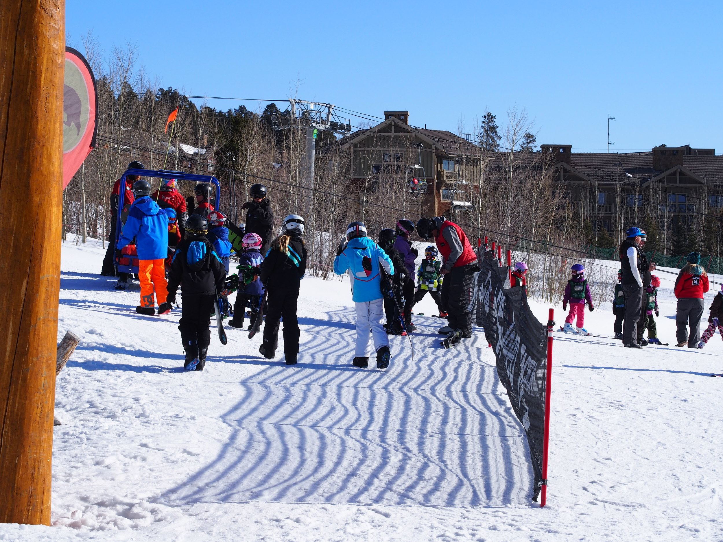 Kids Ranch Ski School in Jackson Hole