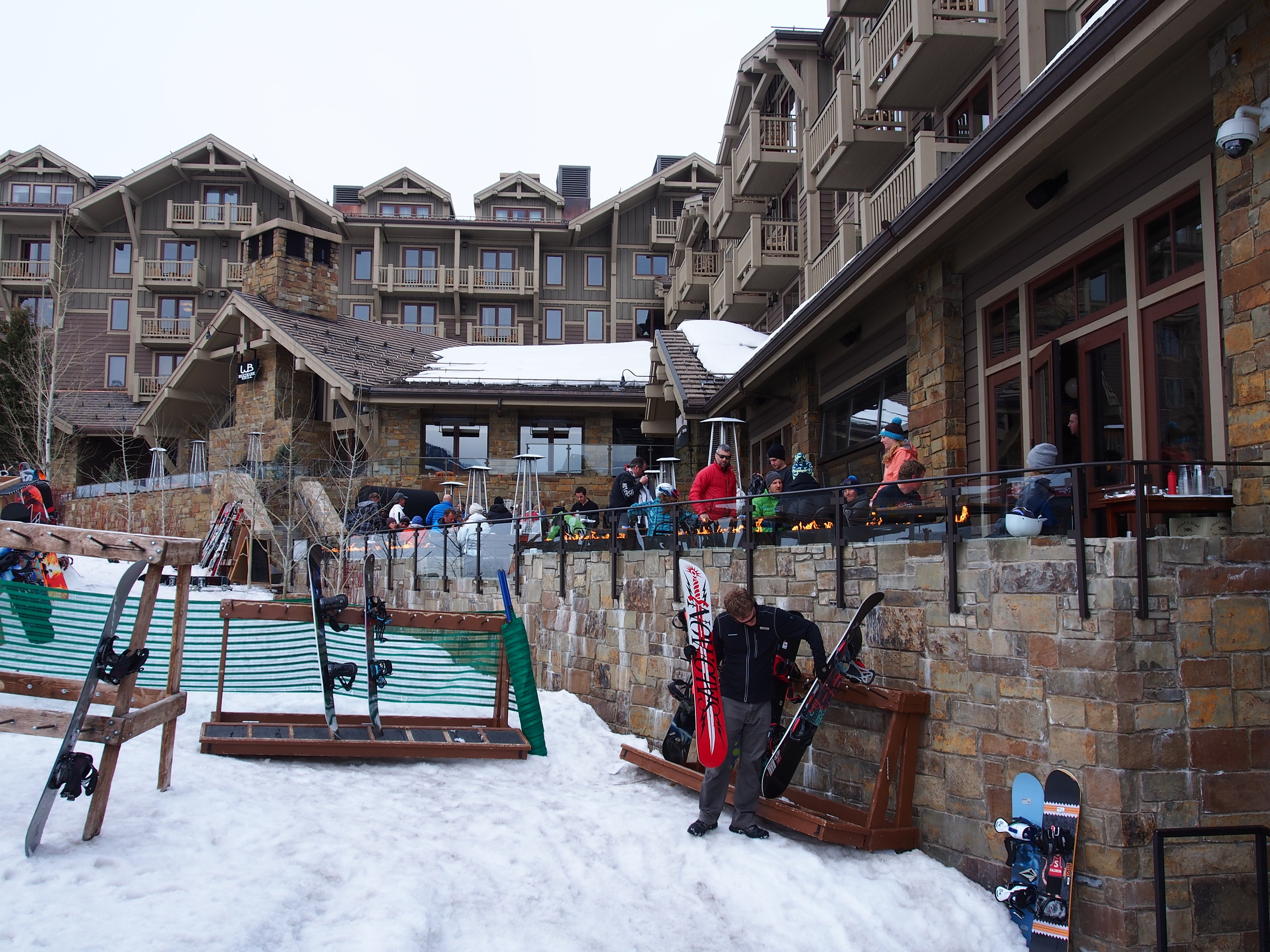 Four Seasons Resort Jackson Hole Handle Bar