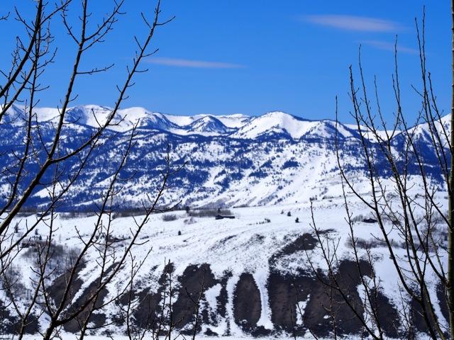 Valley below AMANGANI Jackson Hole