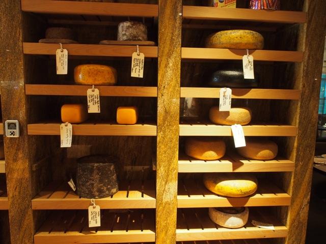 TOCA Restaurant - Cheese Room