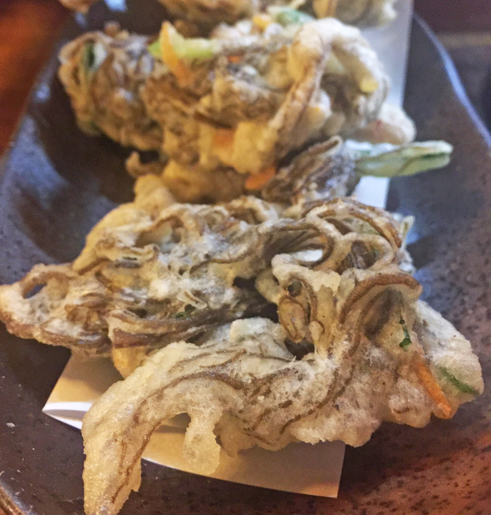 Mozuku Tempura - another new favourite of ours. This black seaweed was served pickled with many other dishes on our trip here in Okinawa but this tempura version is super yummy, I never thought to buy any mozuku souvenirs, hopefully I can source it online somewhere.