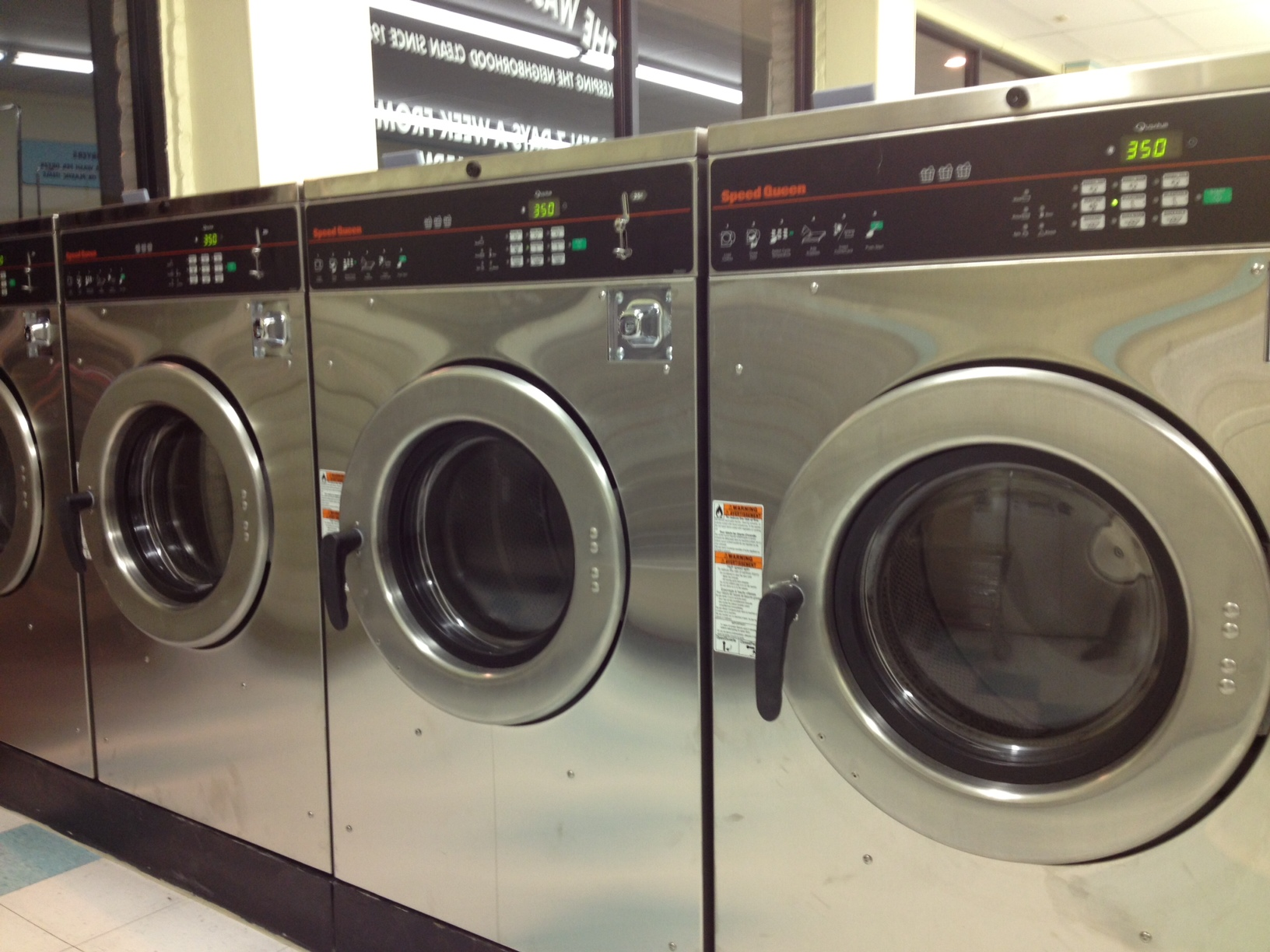 More front loading washing machines!